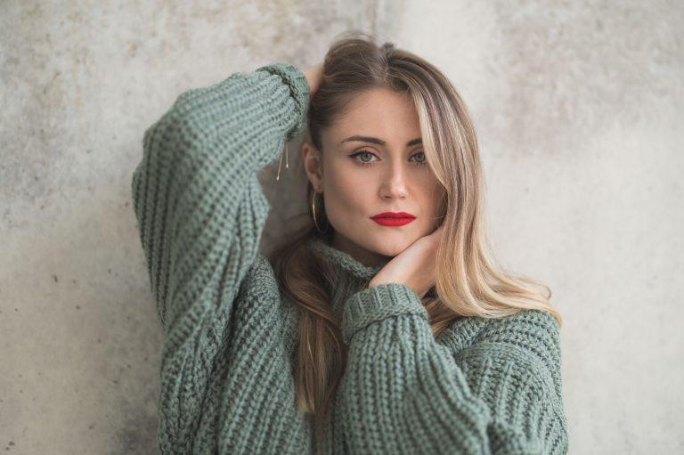 Portrait eines Models